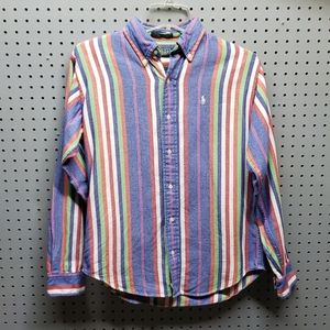 Boys vintage polo button down sz large